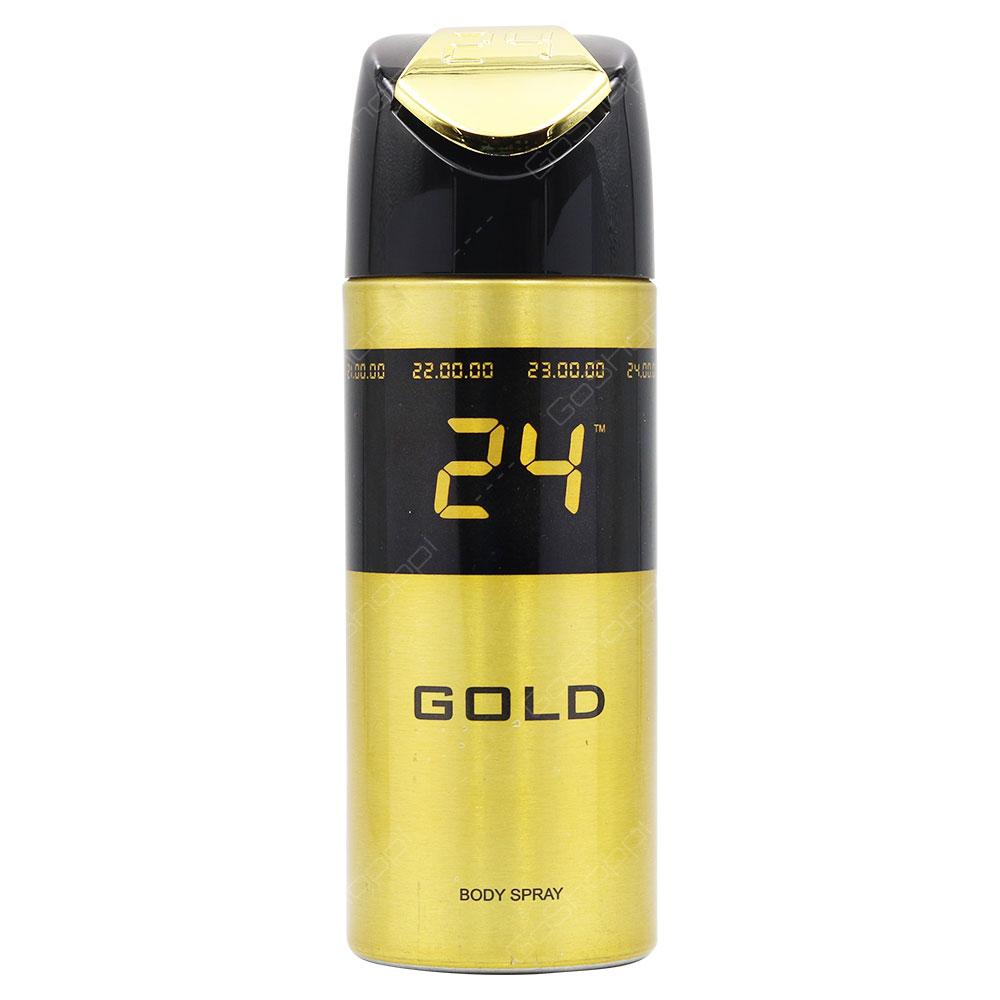 24 Gold Body Spray 150ml