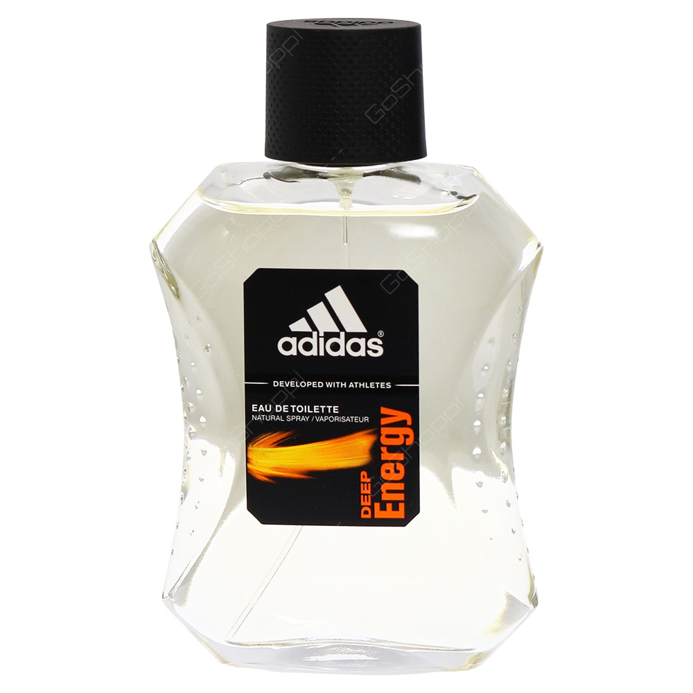 Adidas Deep Energy Eau De Toilette 100ml