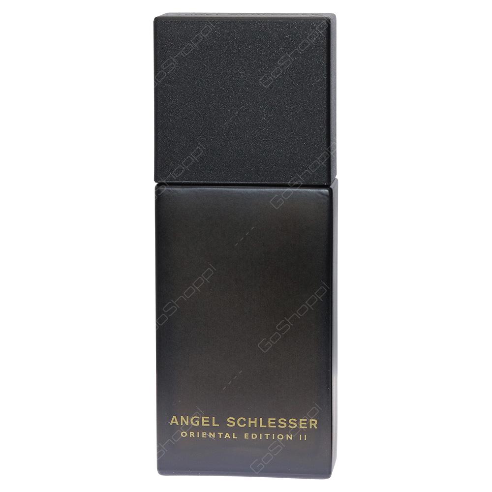 Angel Schlesser Oriental Edition II For Men Eau De Toilette 100ml