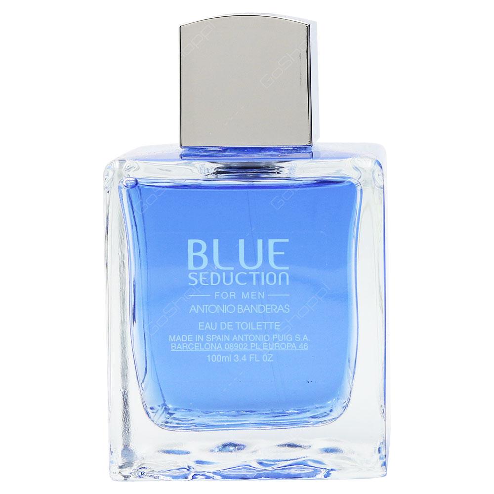 Antinio Banderas Blue Seduction For Men Eau De Toilette 100ml