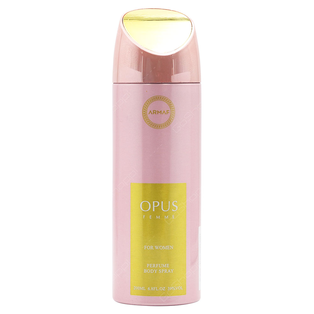 Armaf Opus Femme For Women Perfume Body Spray 200ml