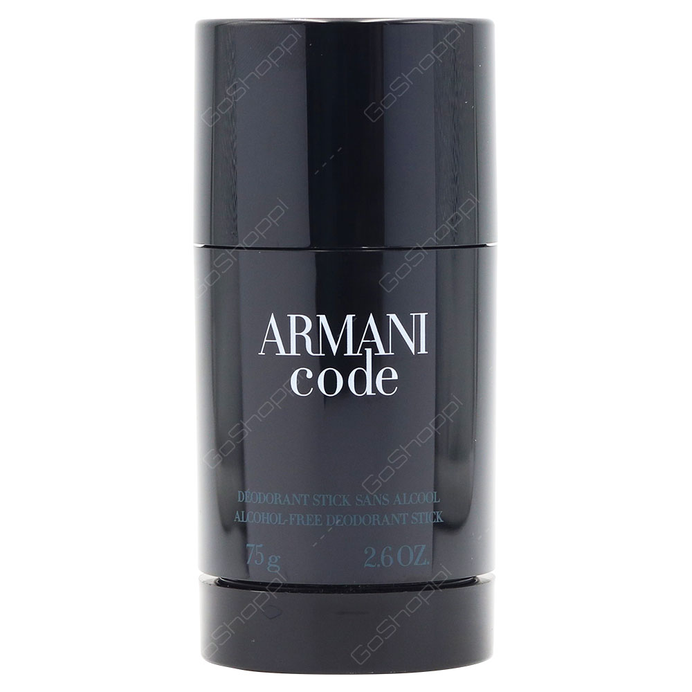 Armani Code Deodorant Stick For Men 75g
