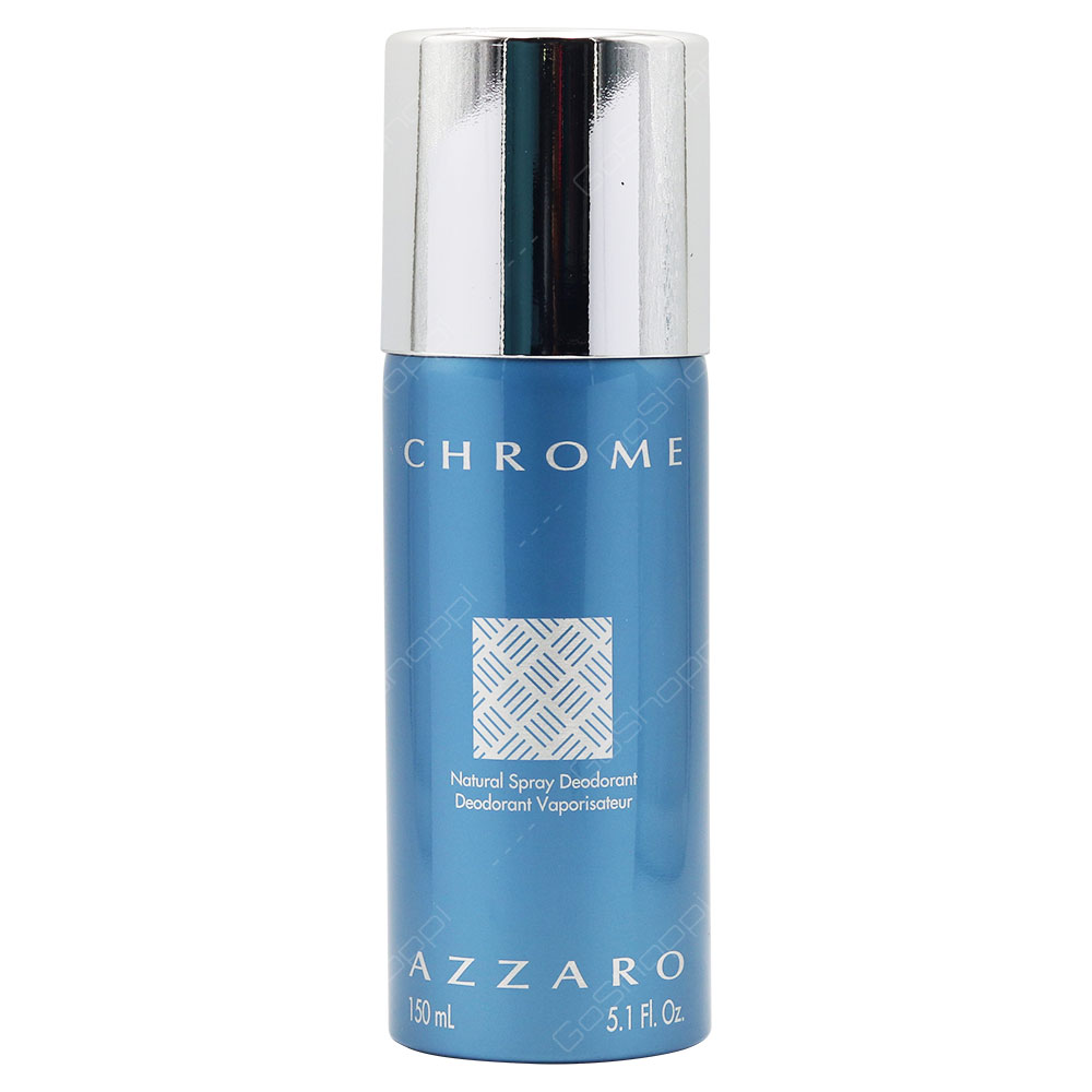 Azzaro Chrome For Men Deodorant Spray 150ml