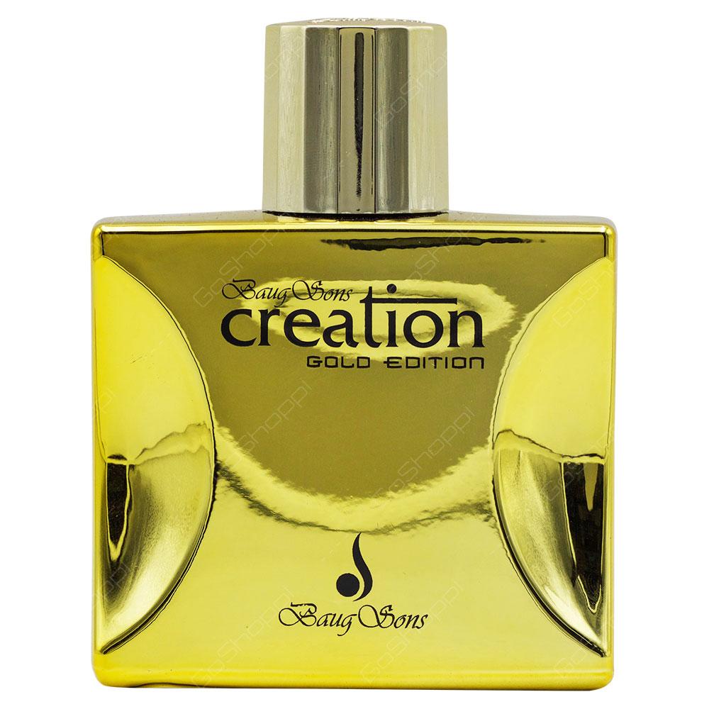 Baug Sons Creation Gold Edition Pour Homme Eau De Parfum 100ml