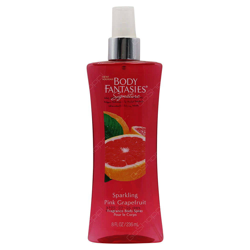 Body Fantasies Sparkling Pink Grapefruit Fragrance Body Spray 236ml