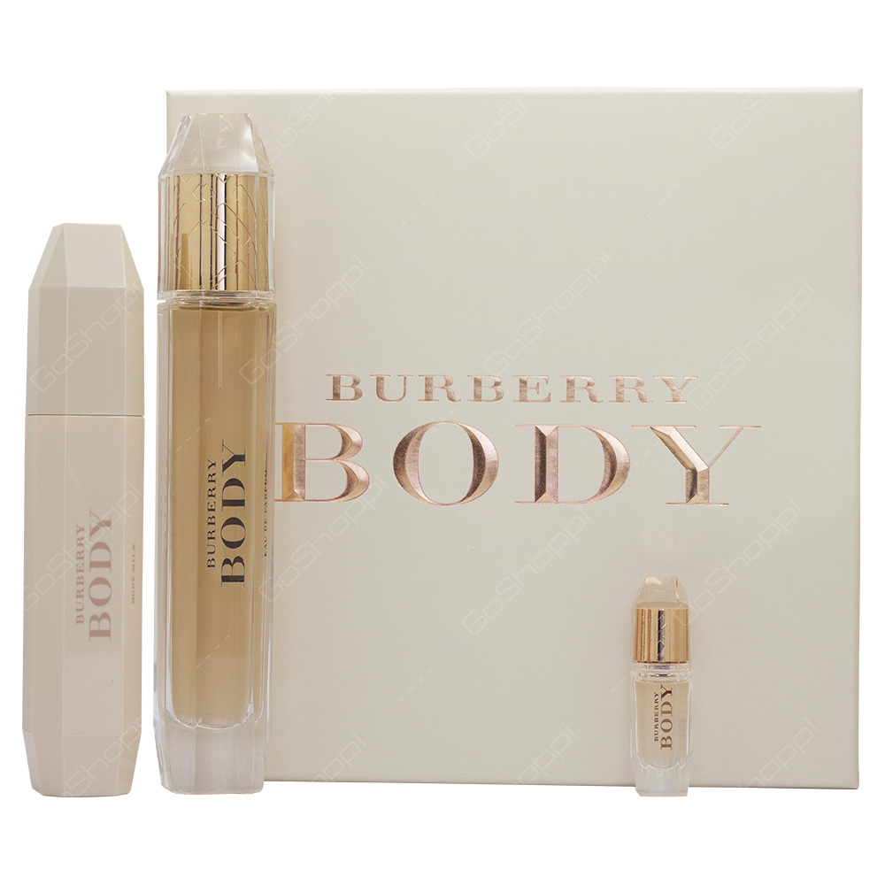 Burberry Body Eau De Parfum Gift Set For Women 3pcs