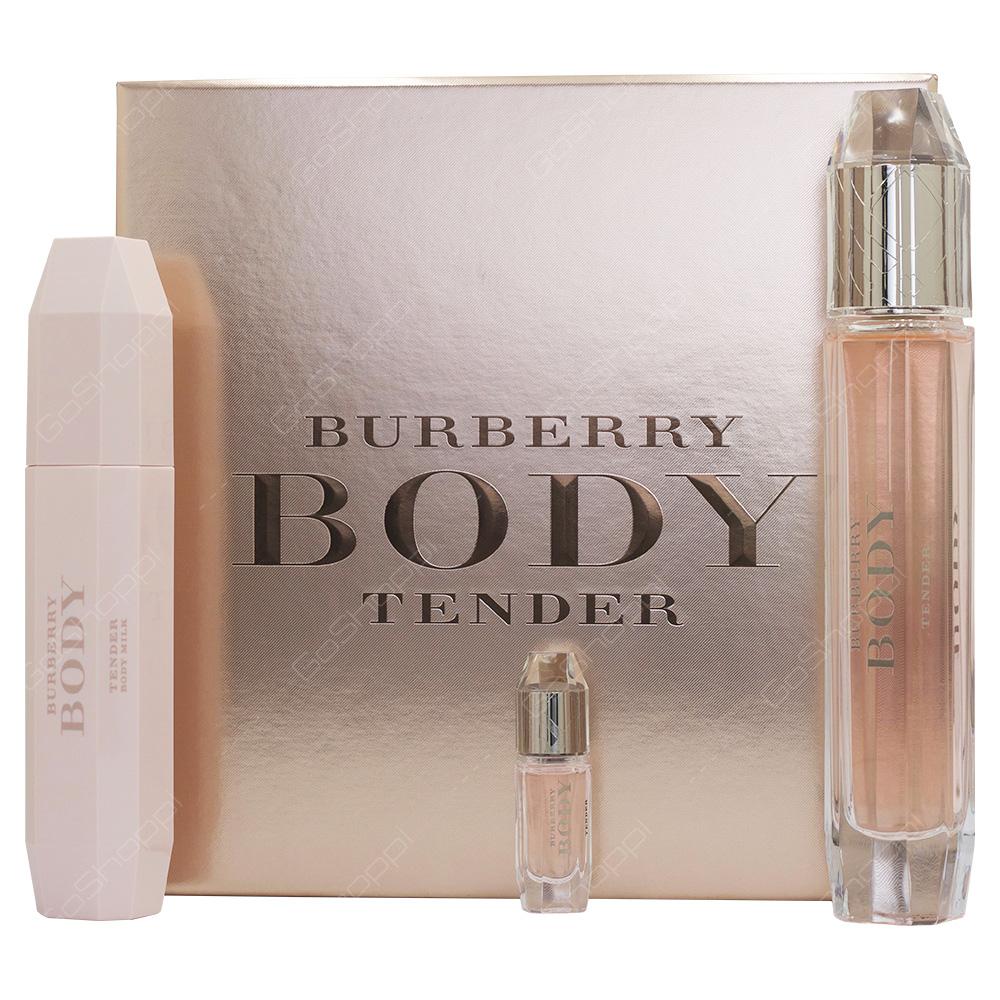 Burberry Body Tender Gift Set For Women 3pcs