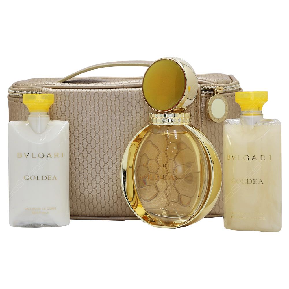 Bvlgari Goldea Gift Set For Women 4pcs