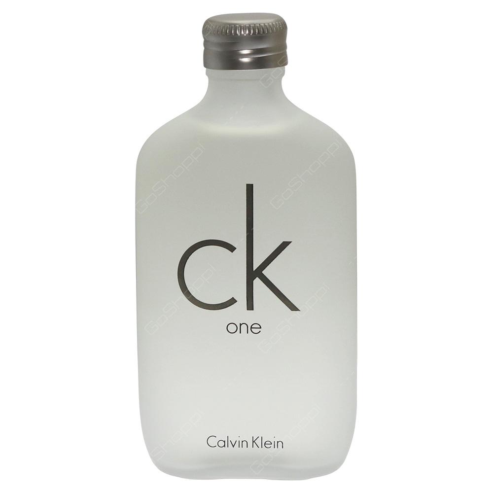 Calvin Klein CK One Eau De Toilette 100ml