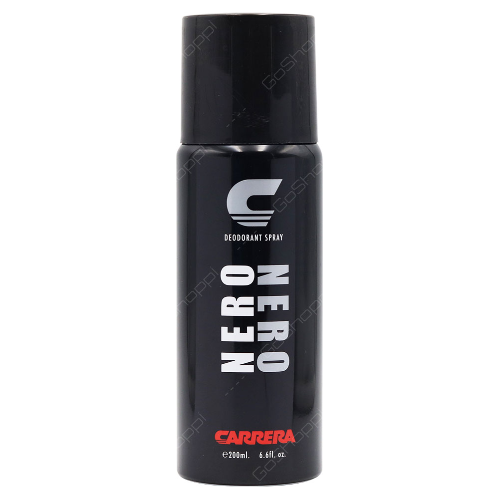 Carrera Nero Deodorant Spray For Men 200ml