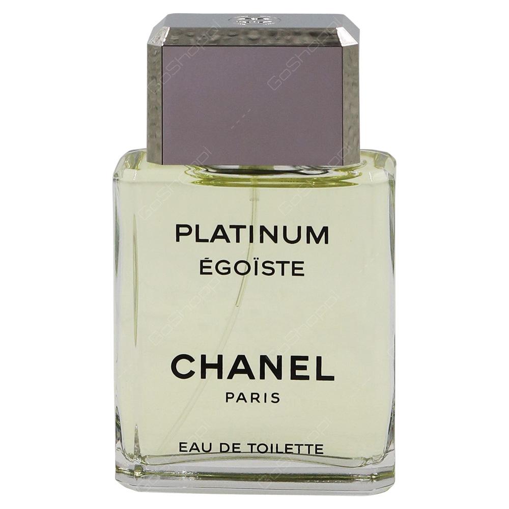 Chanel Egoiste Platinum Pour Homme Eau De Toilette 100ml