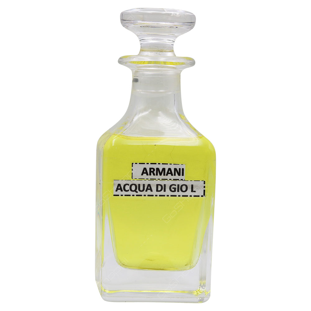 Concentrated Oil - Inspired By Armani Acqua Di Gio For Women