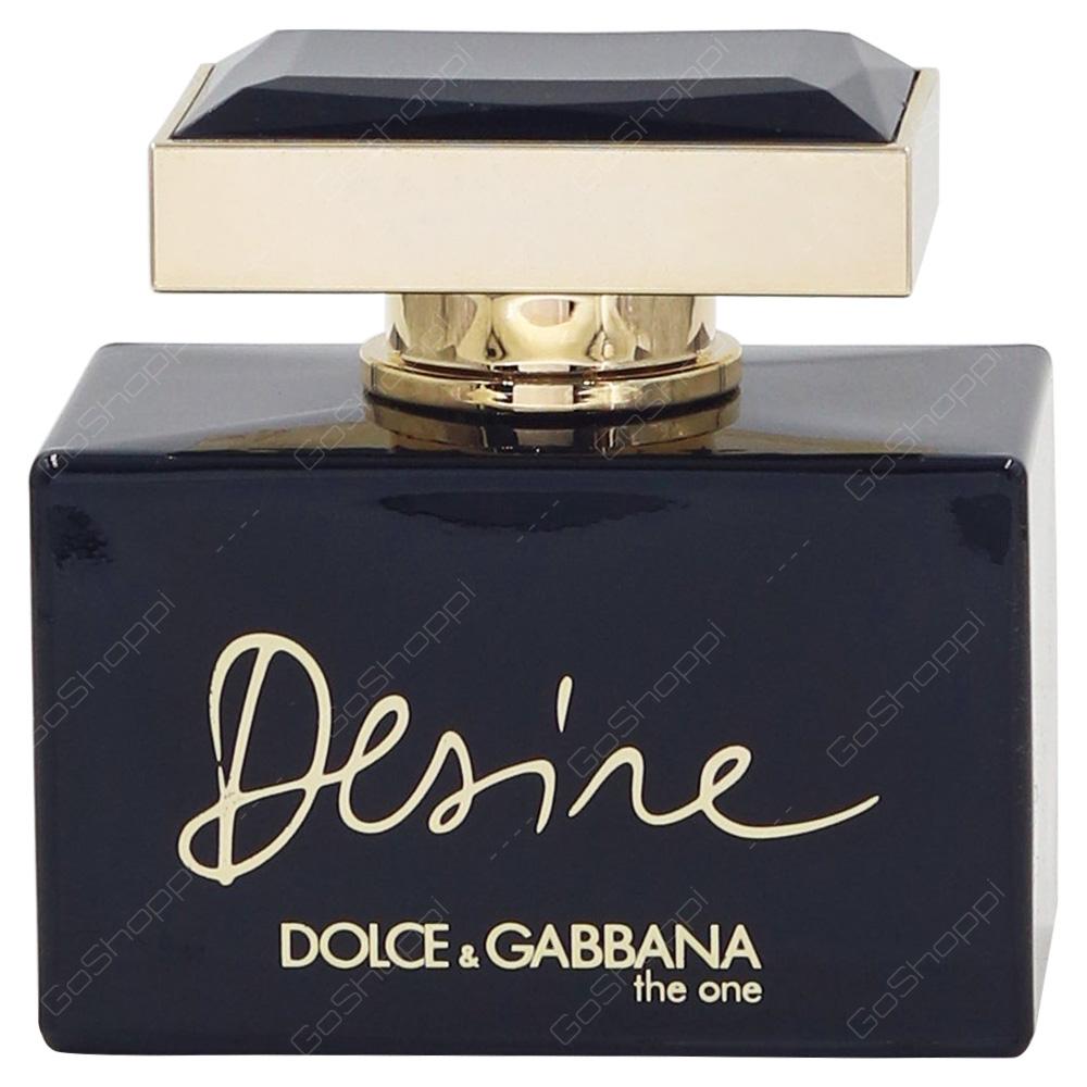 Dolce & Gabbana The One Desire Pour Femme Eau De Parfum 75ml