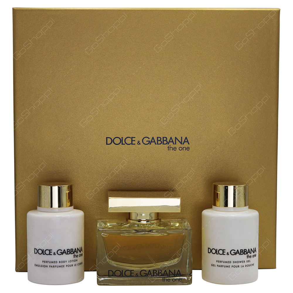 Dolce & Gabbana The One Gift Set For Women 3pcs
