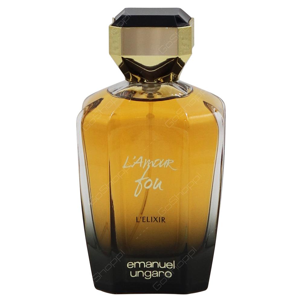 Emanuel Ungaro Lamour Fou Lelixir For Women Eau De Parfum 100 Ml