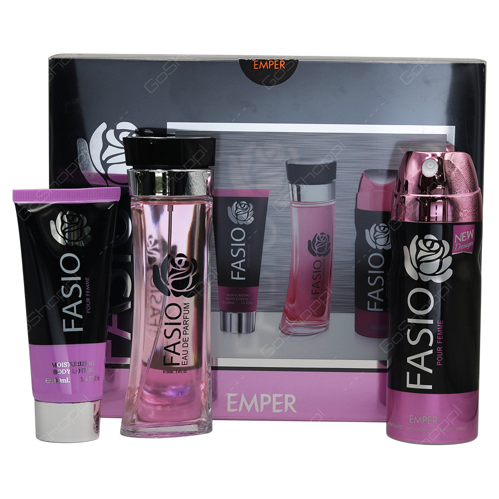 Emper Fasio Gift Set For Women 3pcs