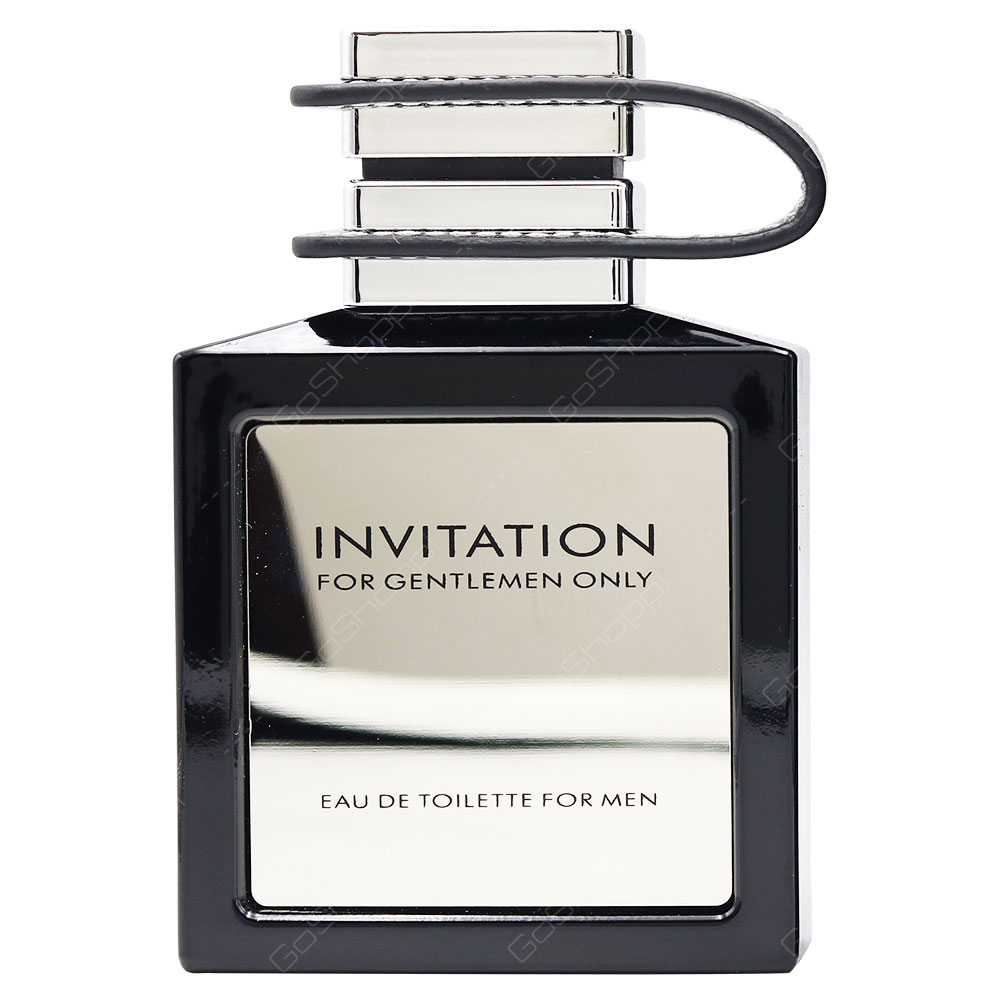 Emper Invitation For Gentlemen Only Pour Homme Eau De Toilette 100ml