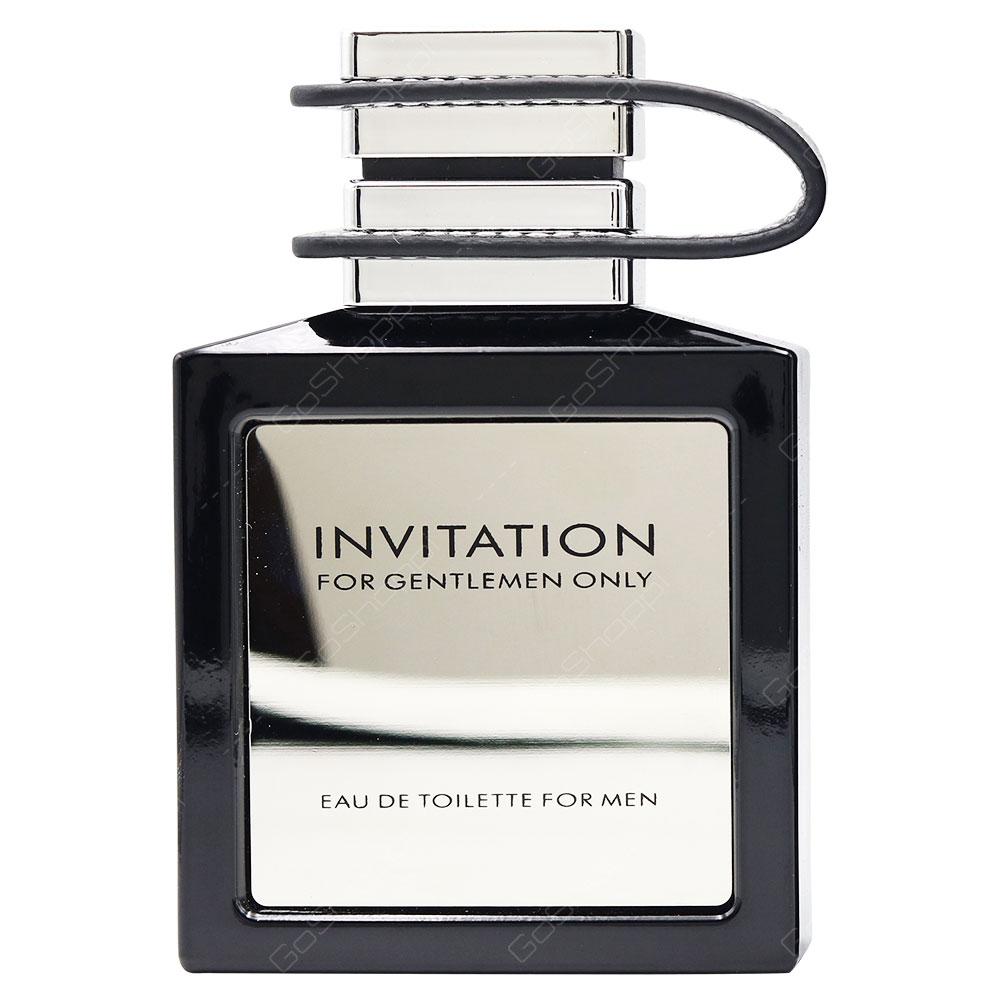 Emper Invitation For Gentlemen Only Pour Homme Eau De Toilette 100ml
