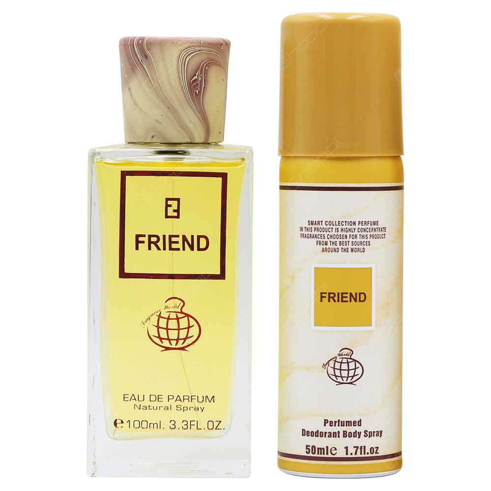 Fragrance World Friend For Men Eau De Parfum With Free Deo Spray 100ml