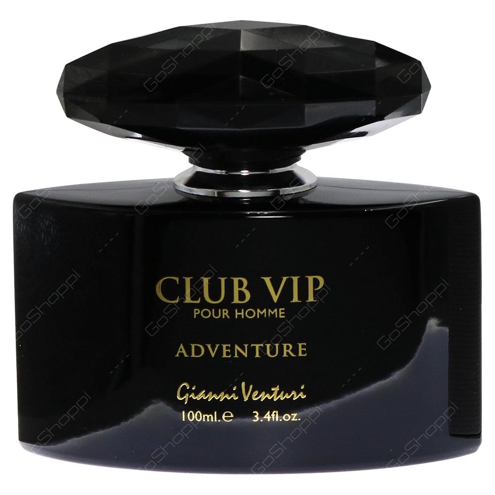 Gianni Venturi Club Vip Adventure Pour Homme Eau De Parfum 100ml