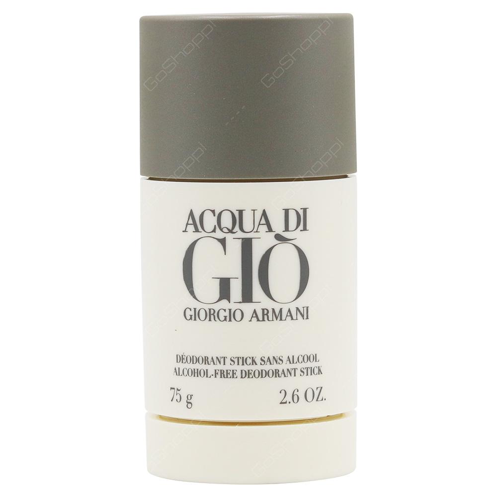 Giorgio Armani Acqua Di Gio For Men deodorant Stick 75g