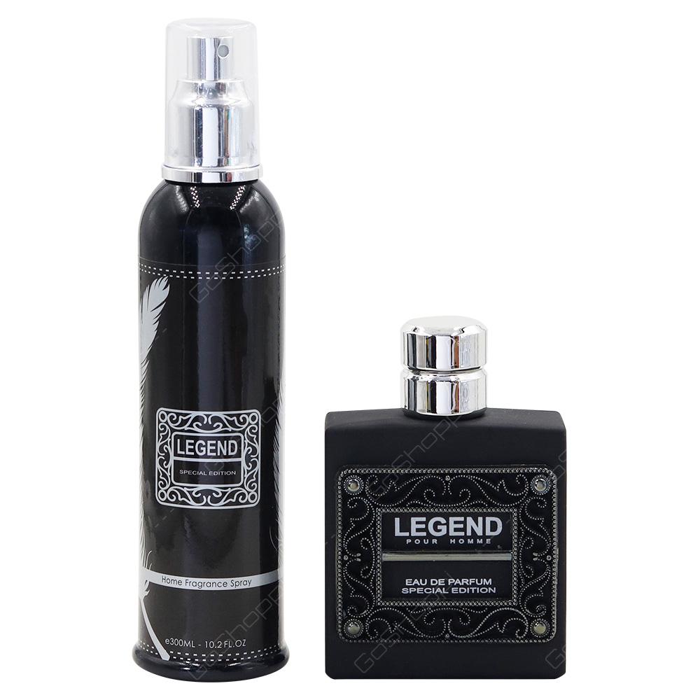 Giorgio Legend For Men Special Edition Gift Pack Eau De Parfum 100ml Deodorant 300ml