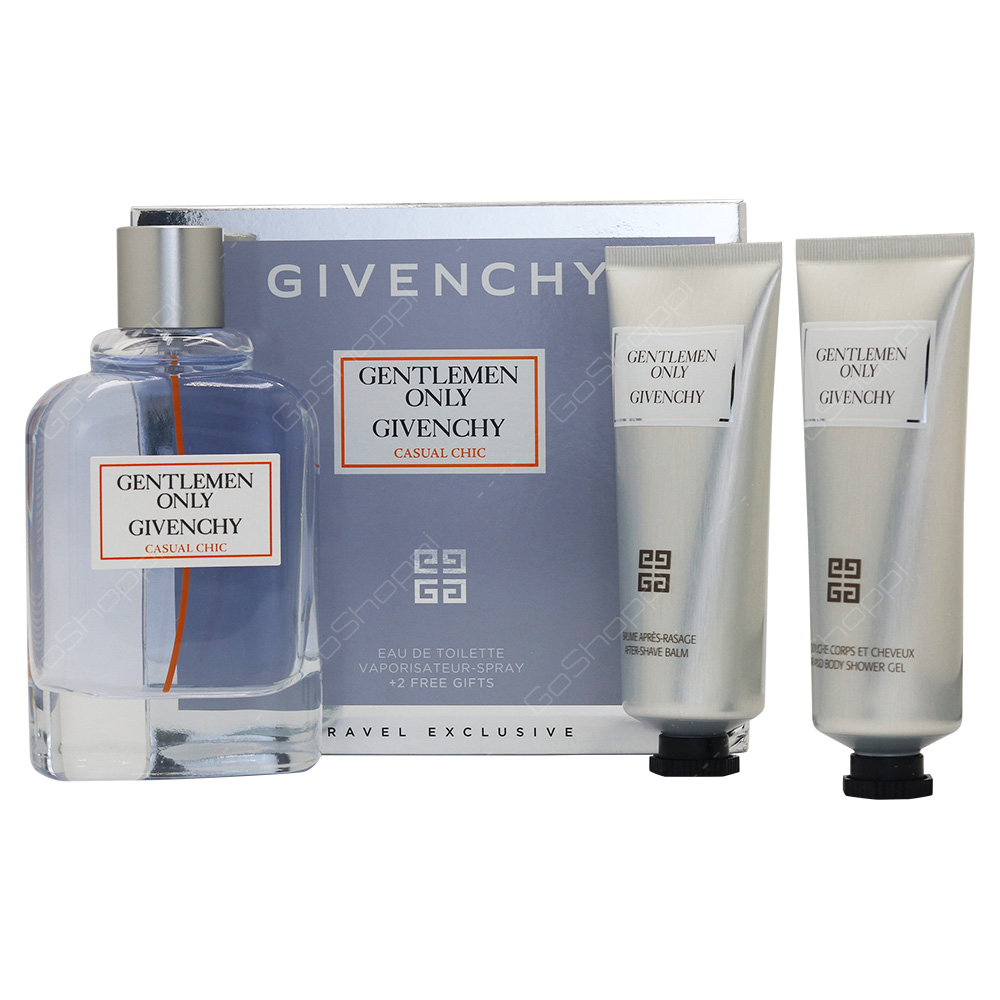 Givenchy Gentlemen Only Casual Chic Gift Set For Men 3pcs