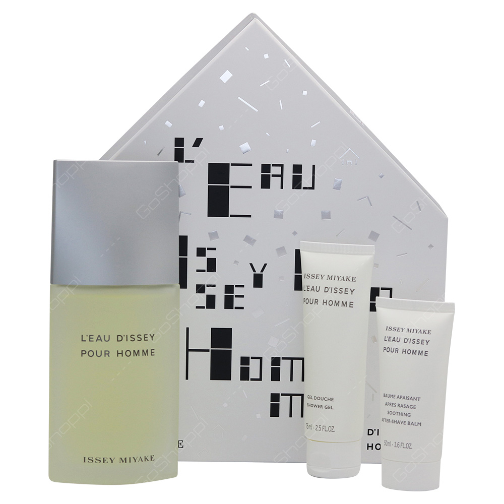Issey Miyake Pour Homme Gift Set 3pcs