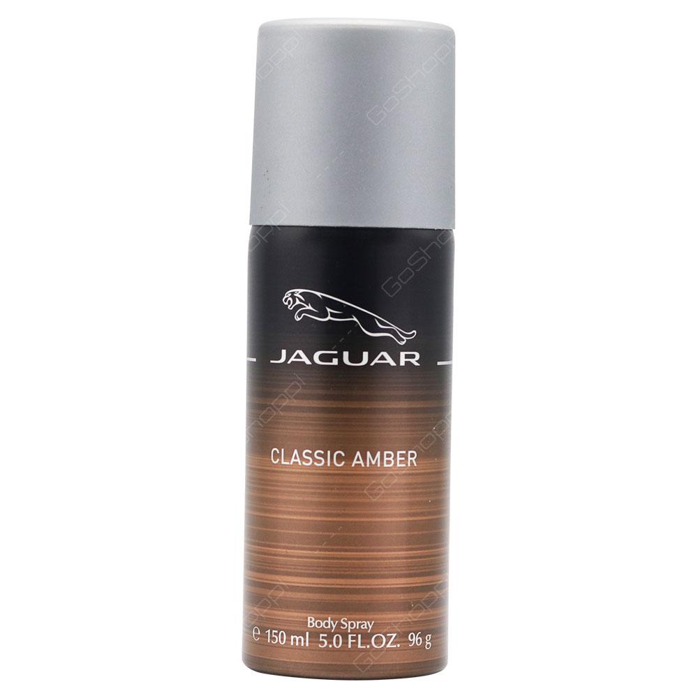 Jaguar Classic Amber Body Spray For Men 150ml