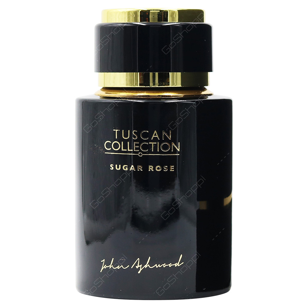 John Ashwood Tuscan Collection Sugar Rose Eau De Parfum 100ml