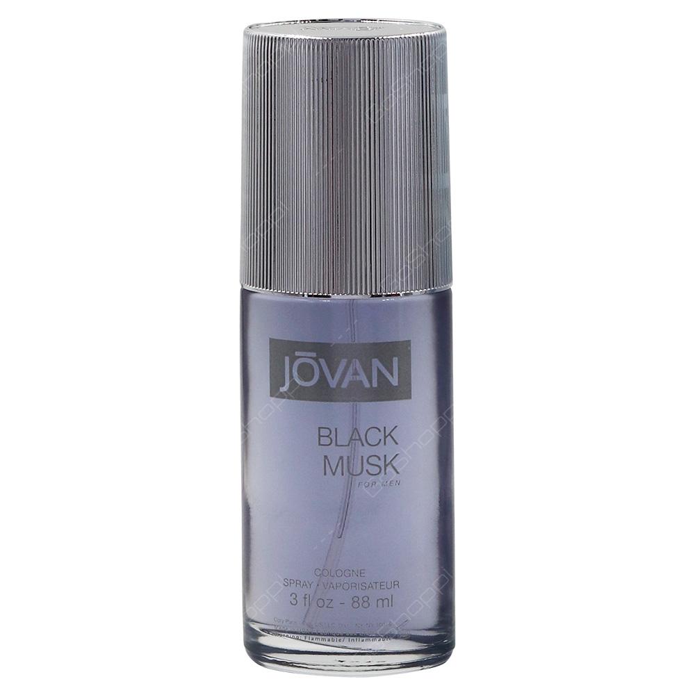 Jovan Black Musk Colonge Spray For Men 88ml