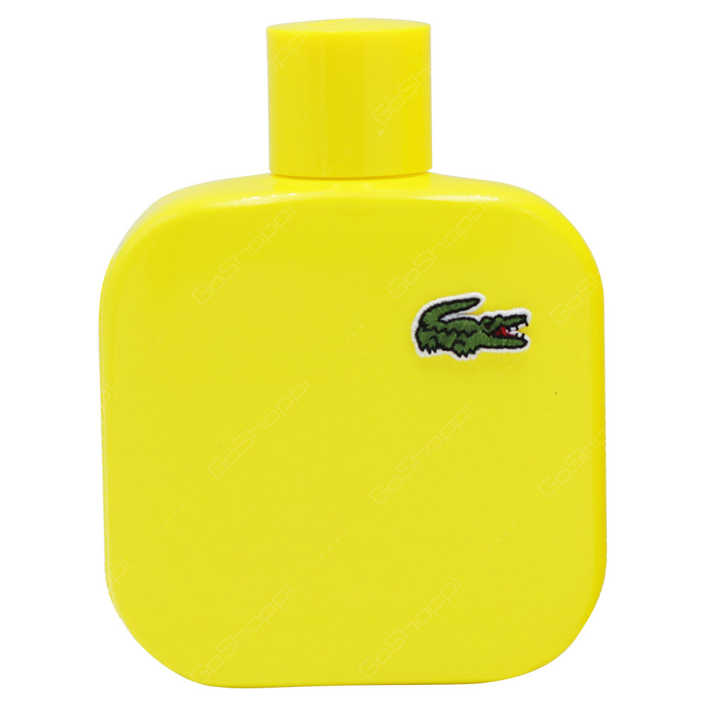 Lacoste Jaune Optimistic For Men Eau De Toilette 100ml
