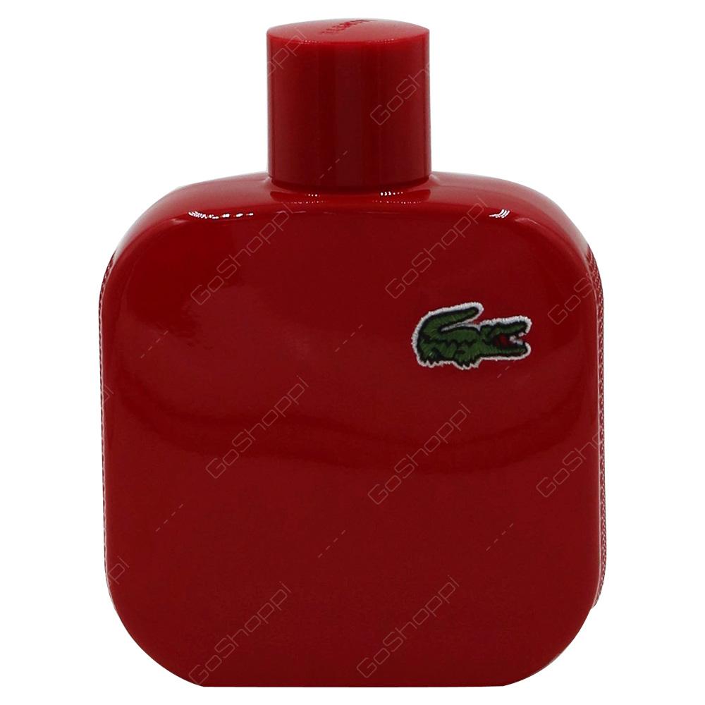 Lacoste Rouge - Energetic Pour Homme Eau De Toilette 100ml