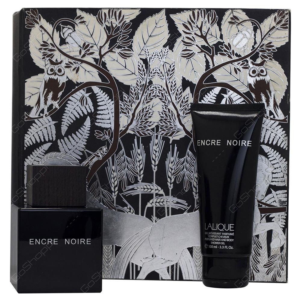 Lalique Encre Noire Gift Set For Men 2pcs