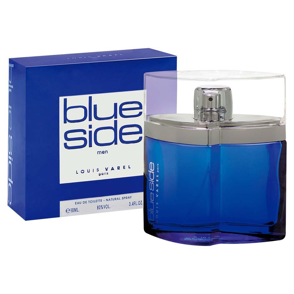 Louis Varel Paris Blue Side For Men Eau De Toilette 90ml