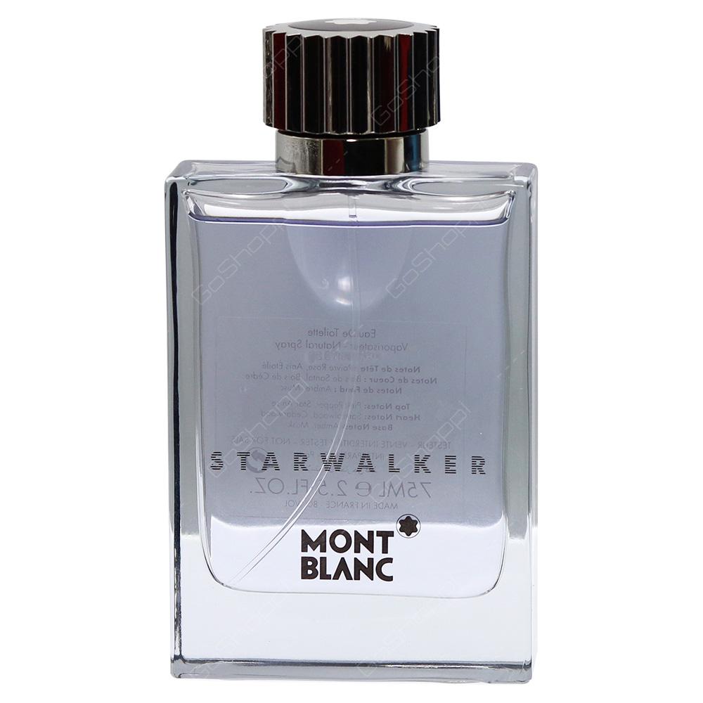 Mont Blanc Starwalker For Men Eau De Toilette 75ml