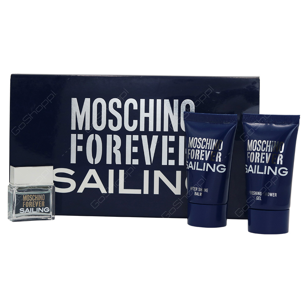Moschino Forever Sailing Mini Set For Men 3pcs