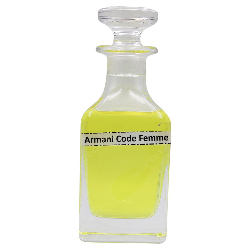 Oil Based - Armani Code For Women Spray
