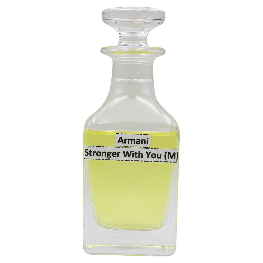 Oil Based - Armani Stronger With You For Men Spray