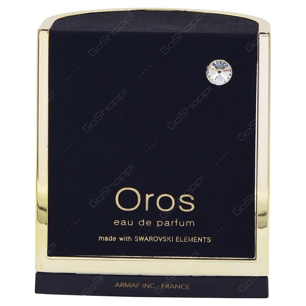 Oros Made With Swarovski Elements Pour Femme Eau De Parfum 85ml