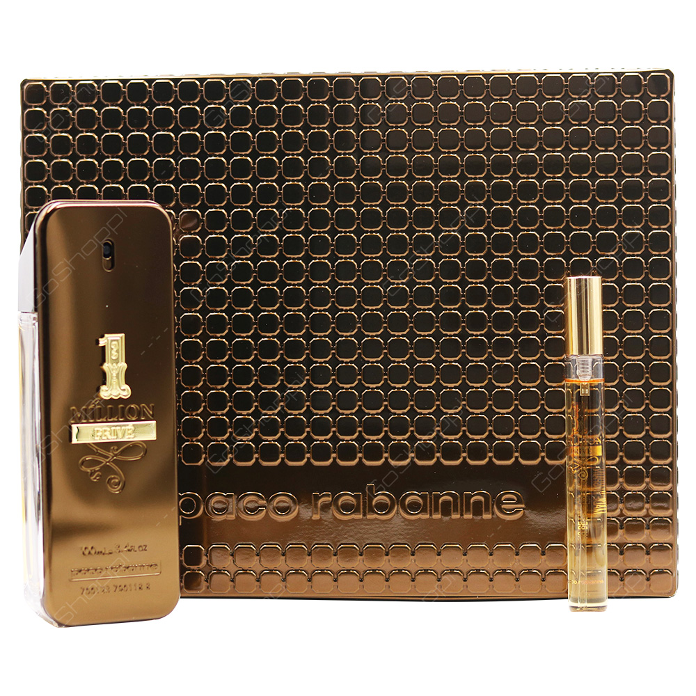 Pacco Rabanne 1Million Prive For Men Gift Set 2pcs
