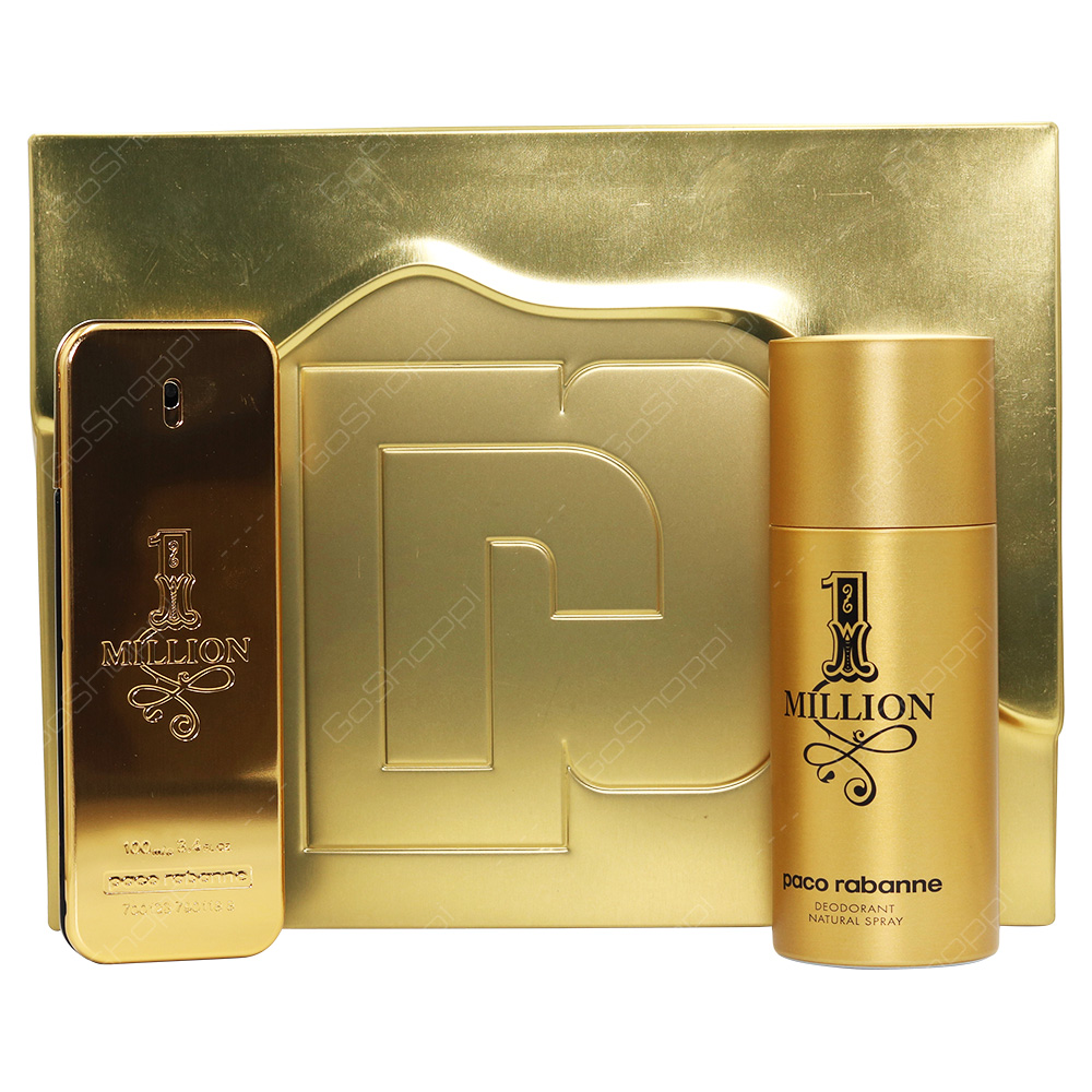 Paco Rabanne 1Million For Men Gift Set 2pcs