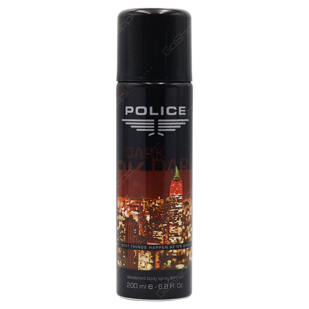 Police Dark Deodorant Body Spray For Man 200ml