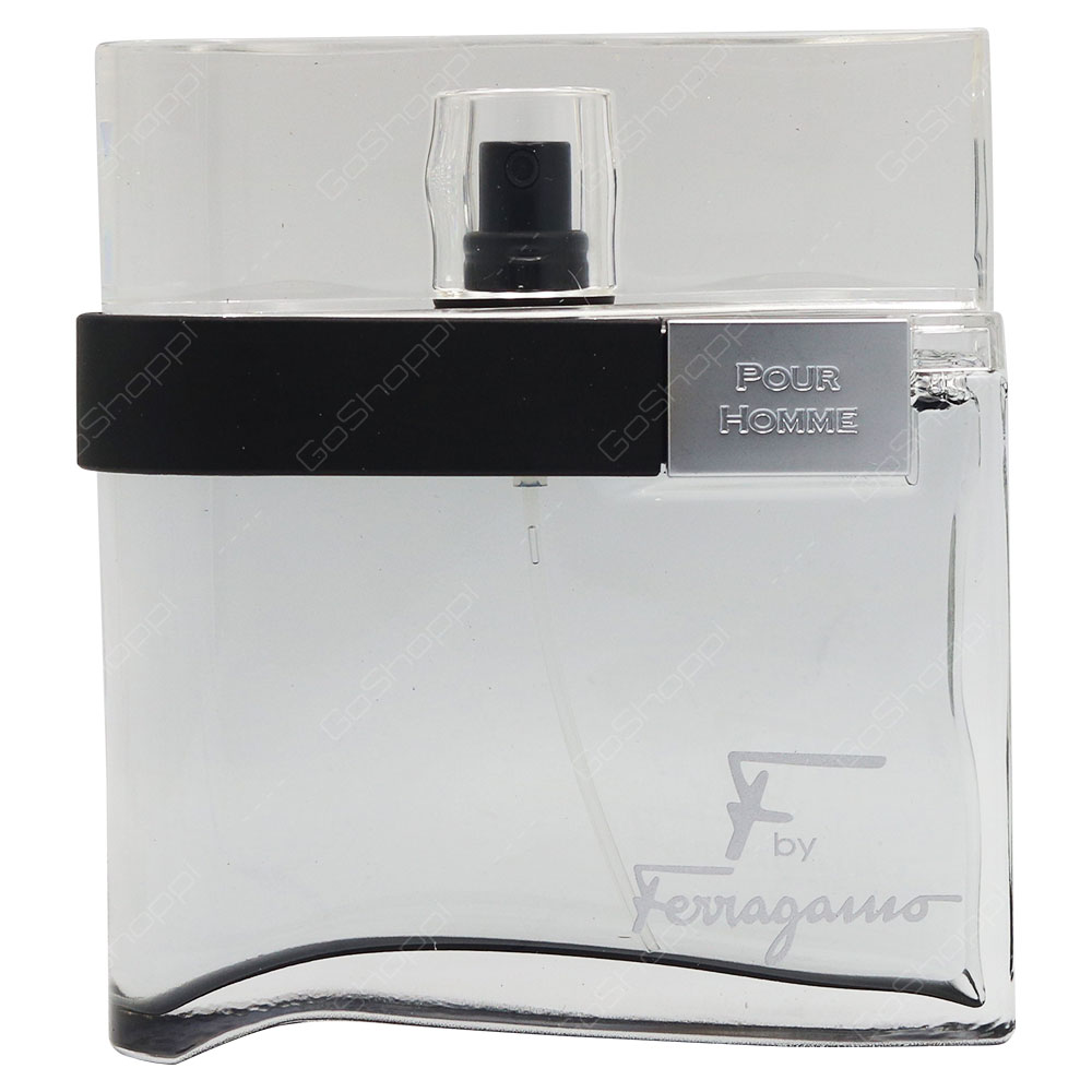 Salvatore Ferragamo F By Ferragamo Black For Men Eau De Toilette 100ml