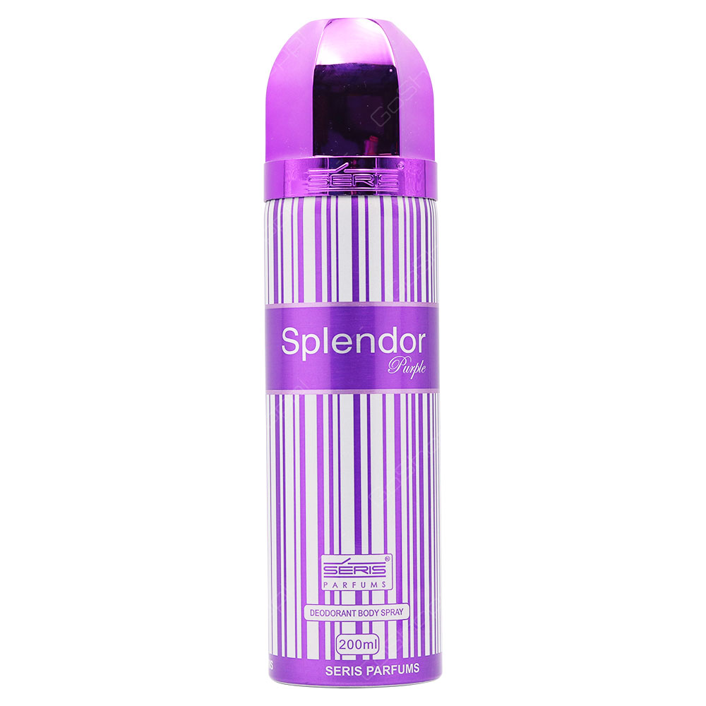 Series Splendor Purple Deodorant Body Spray For Women 200ml