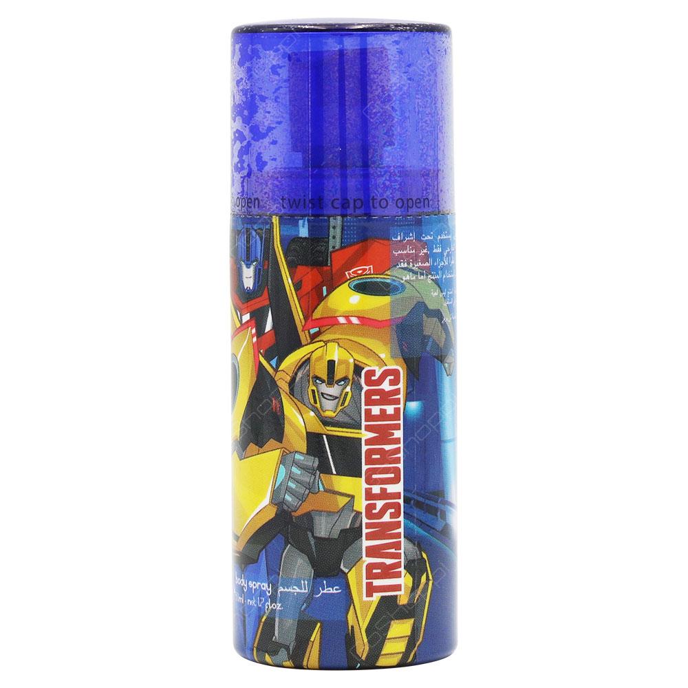 Transformers Body Spray For Kids 50ml