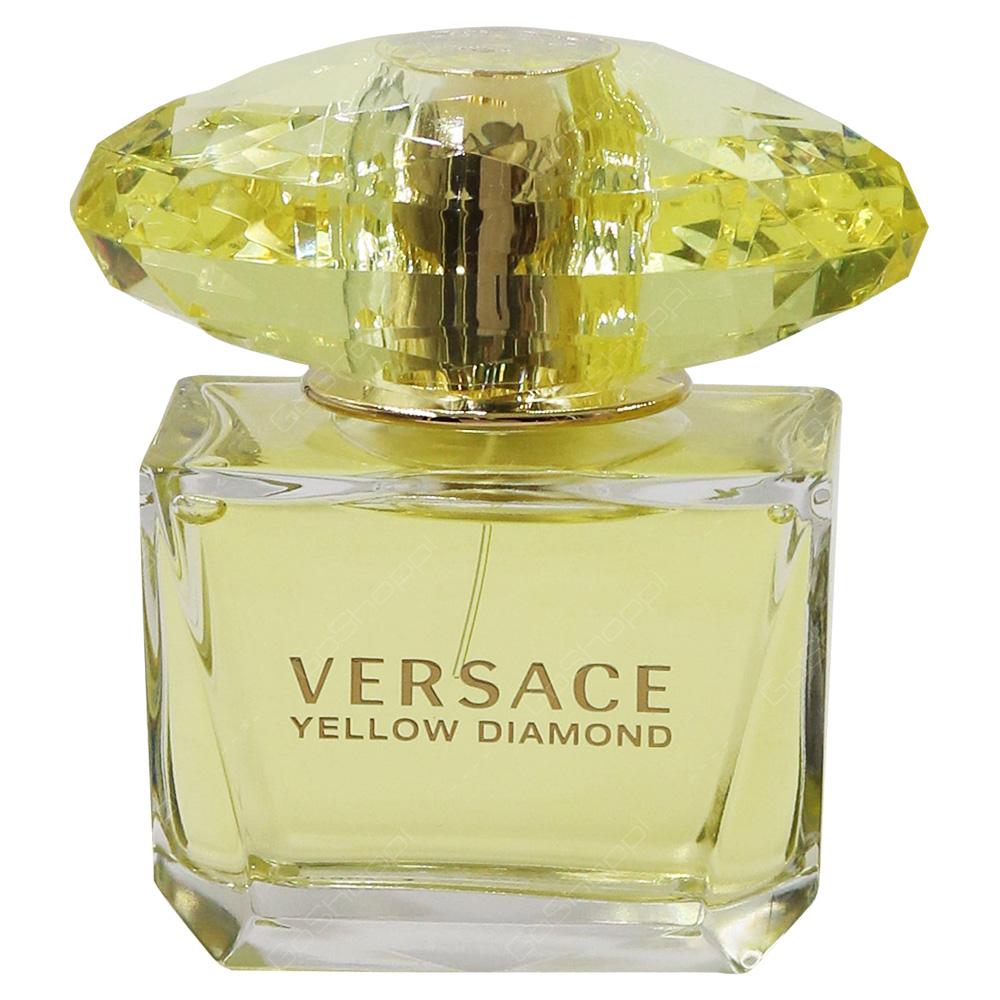 Versace Yellow Diamond  For Women Eau De Toillete 90ml