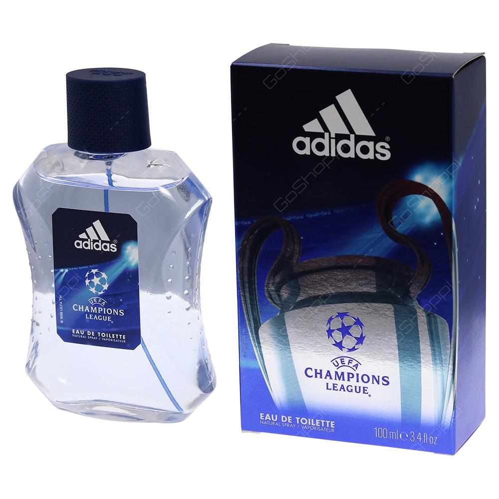 Adidas Champions League Eau De Toilette 100ml
