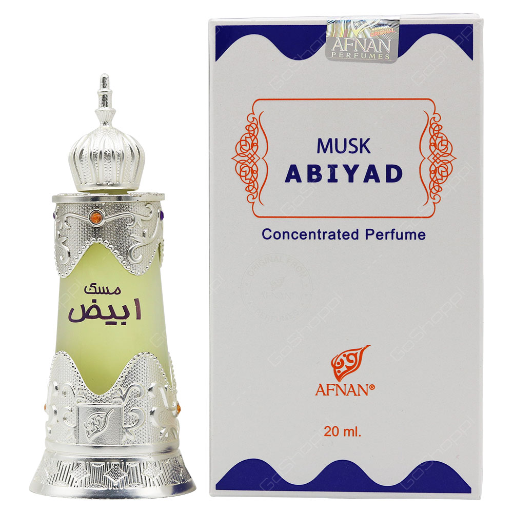 Afnan Musk Abiyad Concentrated Perfume 20ml