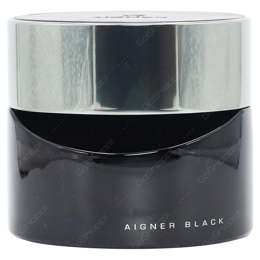 Aigner Black For Men Eau De Toilette 125ml